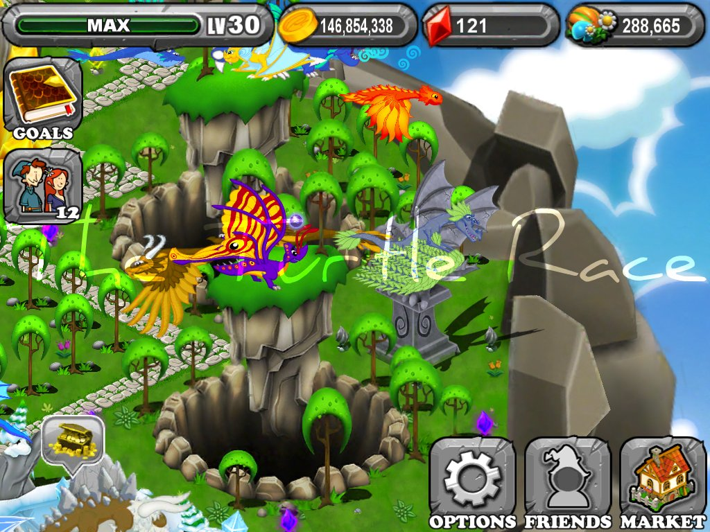 dragonvale butterfly dragon the turtle race