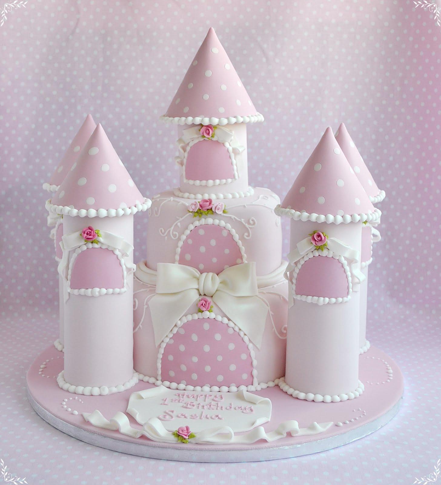 Supermarket Castle Cake