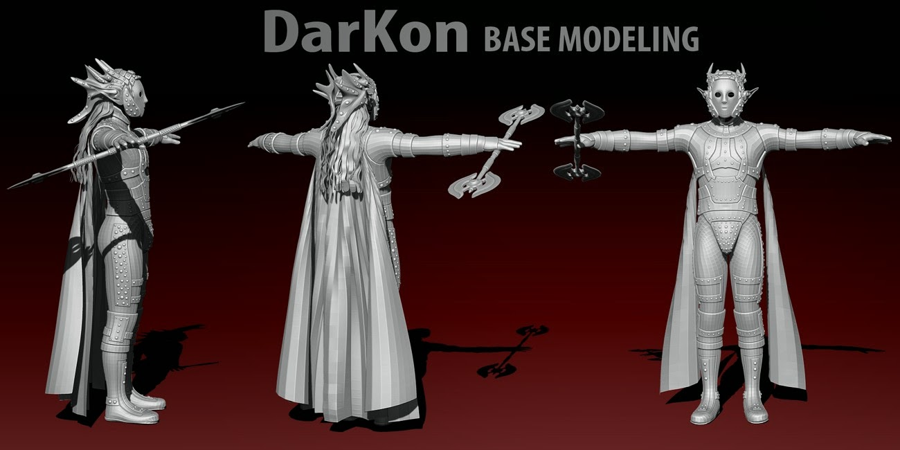 Mec4D DarKon for Genesis 2 Male