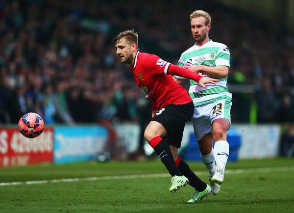 HT: Yeovil Town vs Manchester United 0-0