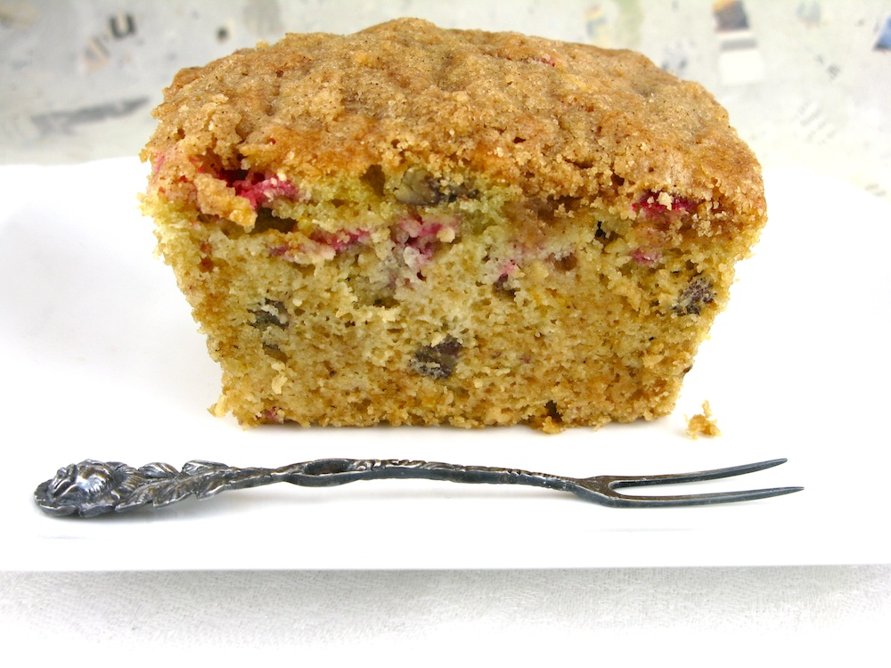 Life's a feast: CRANBERRY ORANGE PECAN BREAD WITH STREUSEL