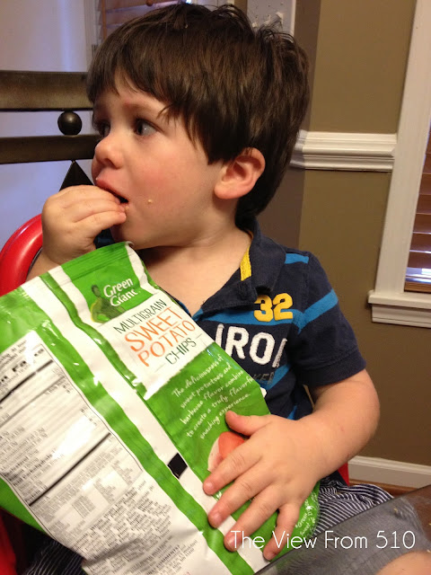 Green Giant Veggie Chips review #ad