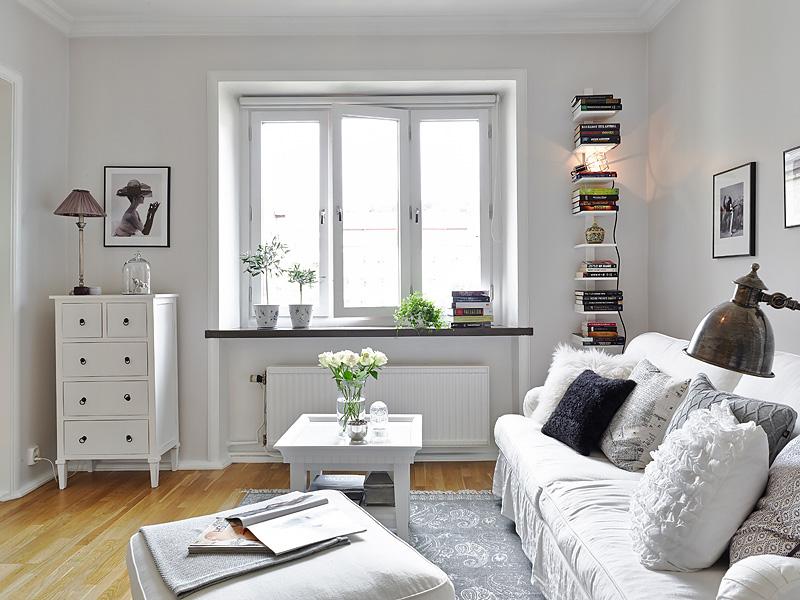 Ideas low cost y almacenaje de un piso sueco decoraci n - Amueblar piso low cost ...