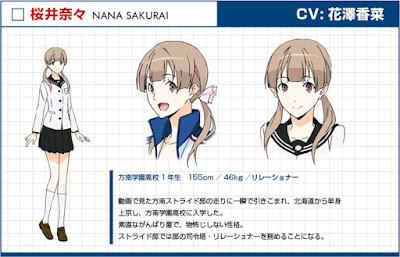 Kana Hanazawa sebagai Nana Sakurai