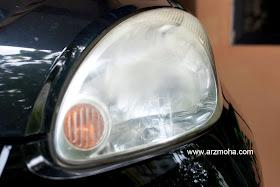 lampu kereta, putihkan, jernihkan, lampu kereta pudar, lampu kereta malap, arzmoha, gambar cantik