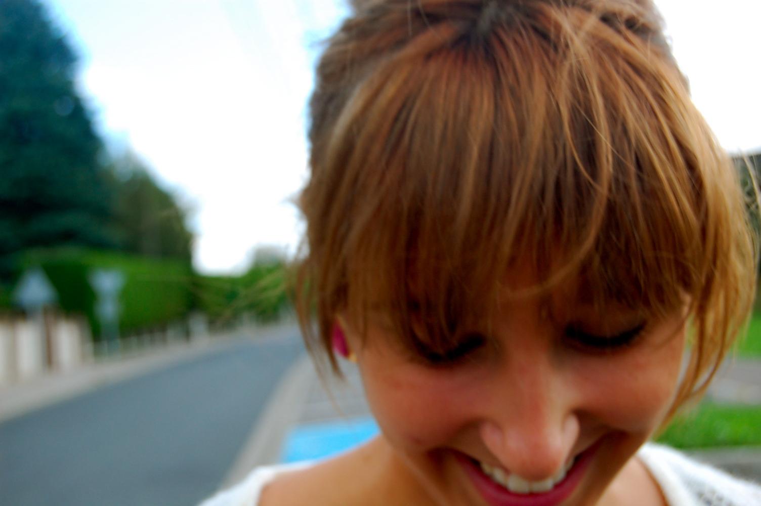 idée coiffure frange
