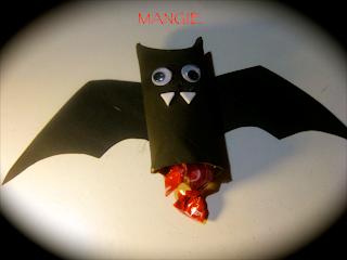 Murciélagos portachuches Halloween