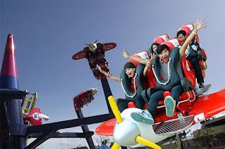 Jungleland Sentul City - Air Race