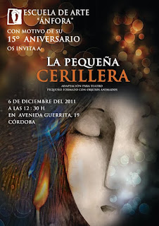 La pequea cerillera: representacin teatral