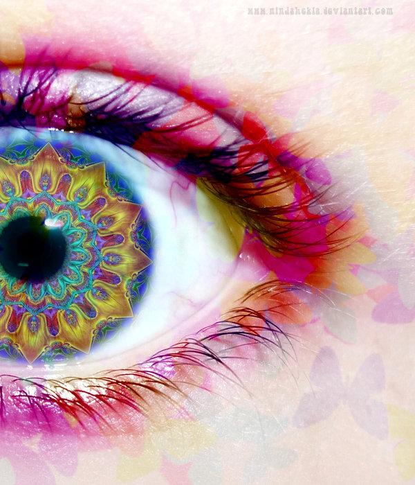 Que voyez vous quand vous fermez les yeux for Interieur yeux