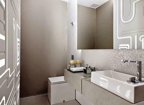 Vasos sanitários quadrados  veja banheiros e lavabos lindos com essa tendênc -> Cuba Banheiro Tendencia