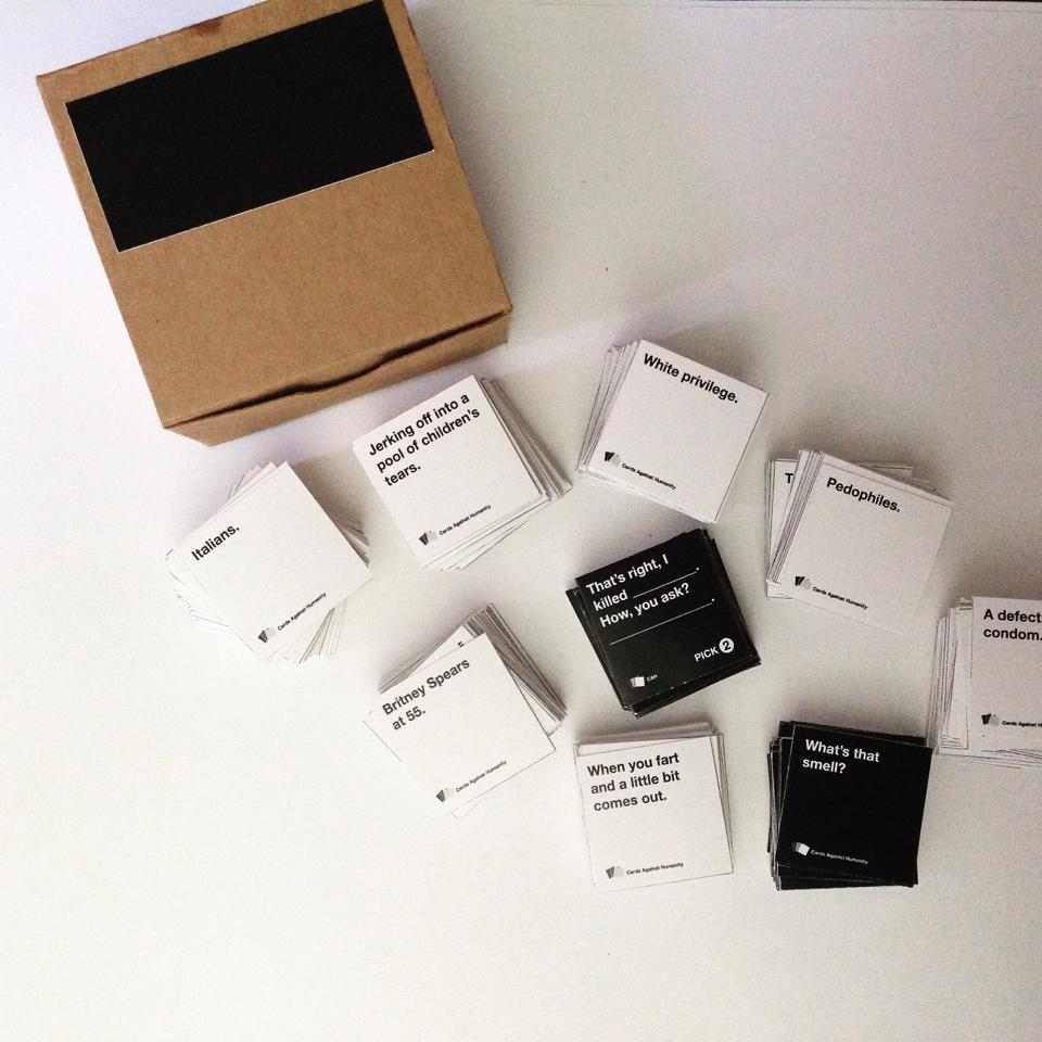 Cute But Twisted Miniature Cards Against Humanity Finding My Forte
