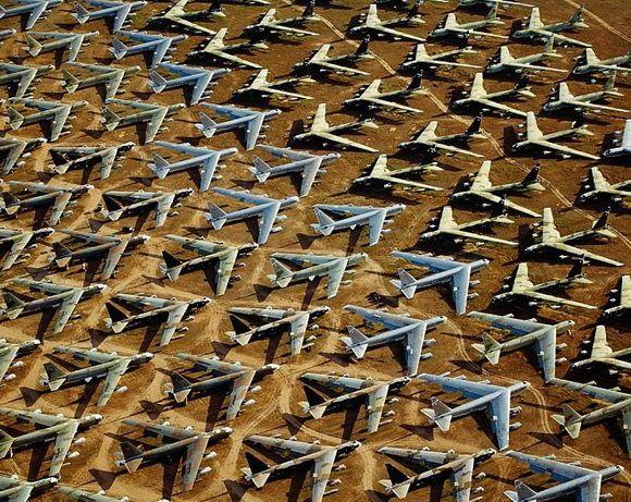9 Kuburan Terunik di Dunia - Kuburan Pesawat Terbang, Amerika