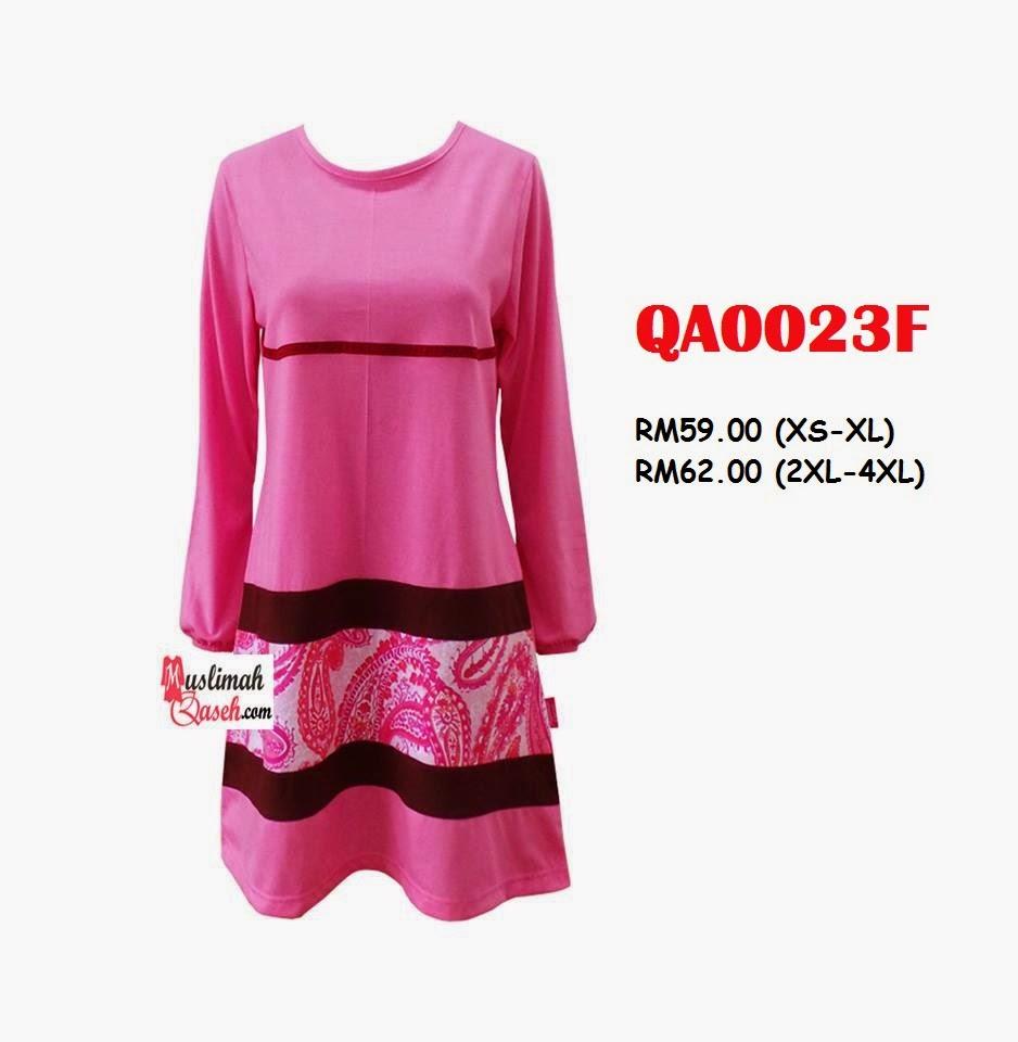T-Shirt-Muslimah-Qaseh-QA0023F