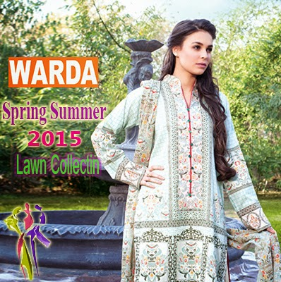 WARDA Prints Spring Summer Lawn Collection 2015