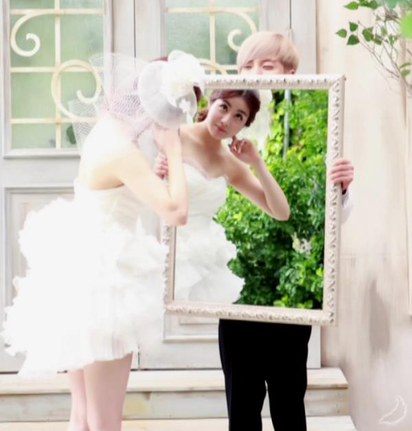 Photo] Leeteuk and Kang Sora Wedding Photoshoot.