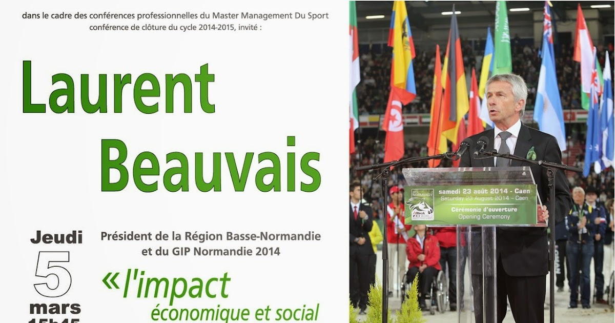 Blog du master management du sport staps caen - Office du tourisme de basse normandie ...