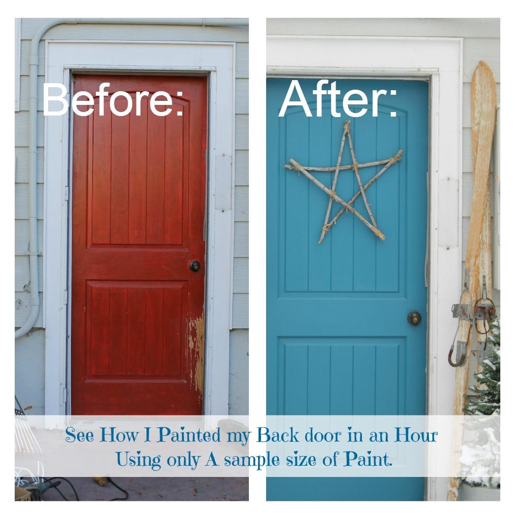 Painted Back Door