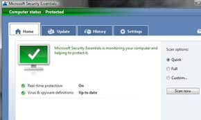 Download Microsoft Security Essentials 2012 Antivirus Program