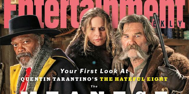 Os 8 Odiados | Samuel L Jackson, Jeff Bridges e Jennifer Jason Leigh na capa do novo faroeste de Tarantino