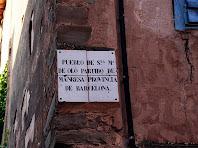 Carrer de Santa Maria d'Oló. Autor: Carlos Albacete