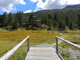 Al Rifugio Bosio in Valmalenco