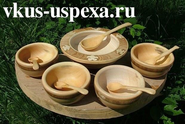 Русская деревянная посуда, старинная деревянная посуда Руси, О деревянной посуде