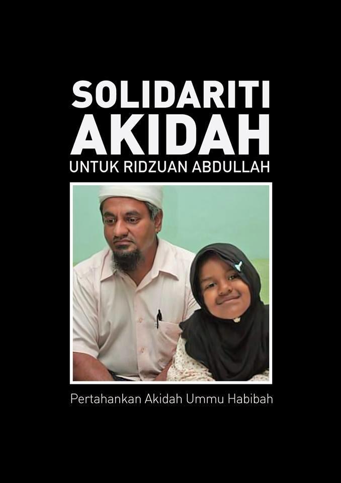 Solidariti Dari Kami Untuk Saudara Ridhuan Abdullah