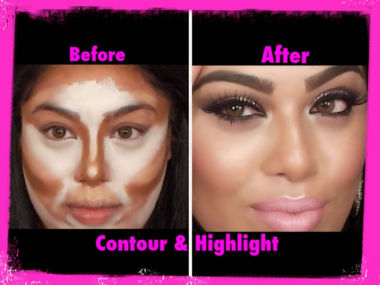 Beautybybinny makeup artist secret contouring and highlighting baditri Images