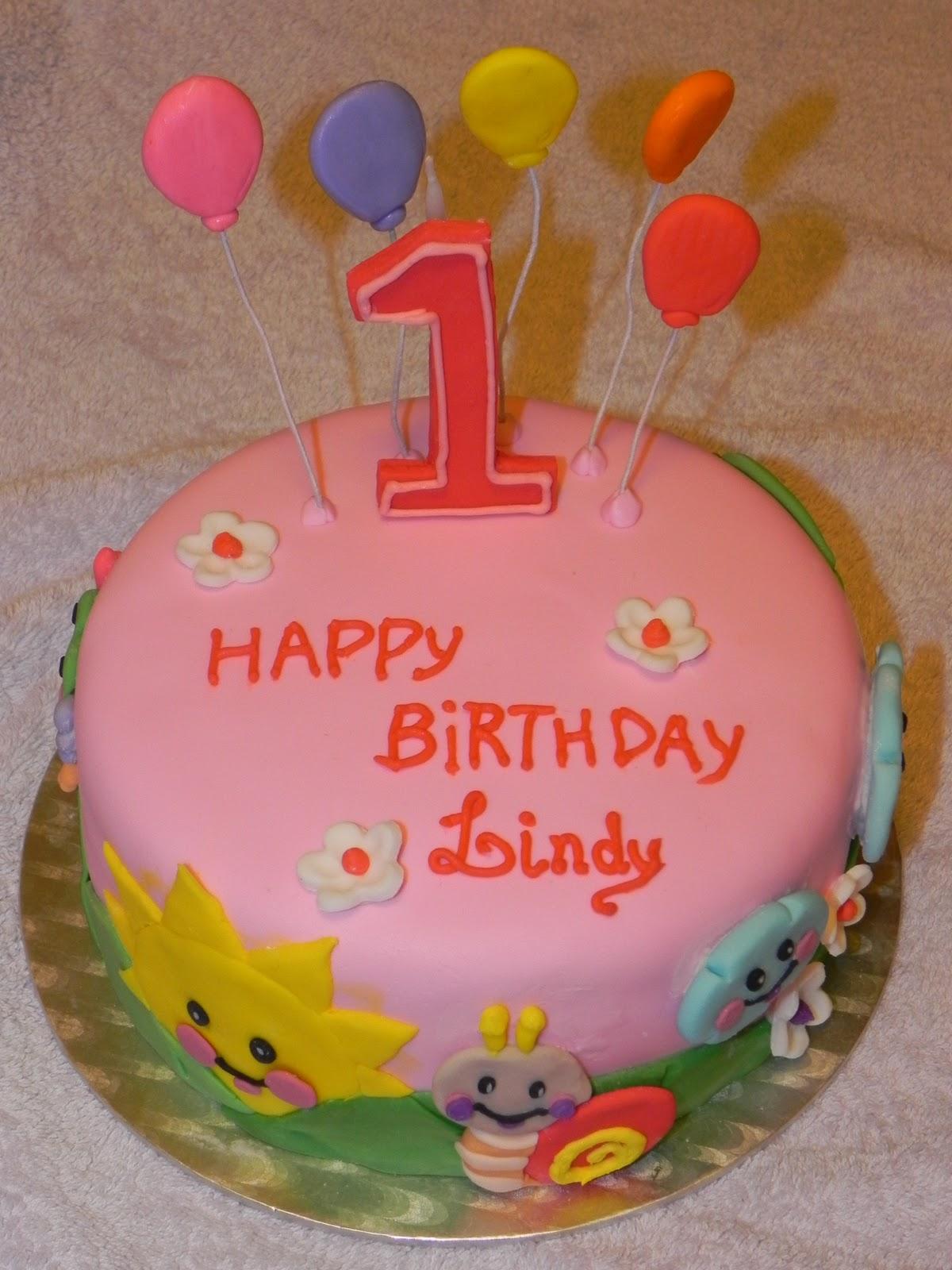 Birthday Cake Images With Name Sunny : Andrea Koyama Cake Designer: 1st Birthday CAKE !! Happy ...