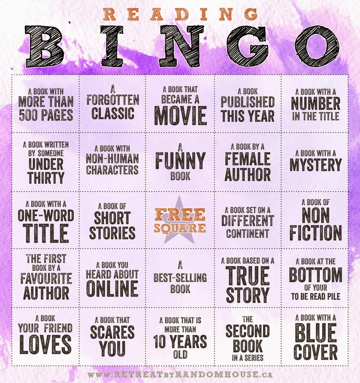 Bingo Challenge