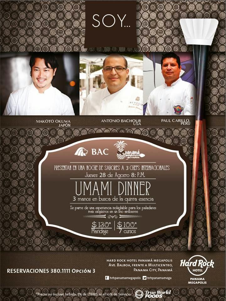 Umami Dinner - SOY