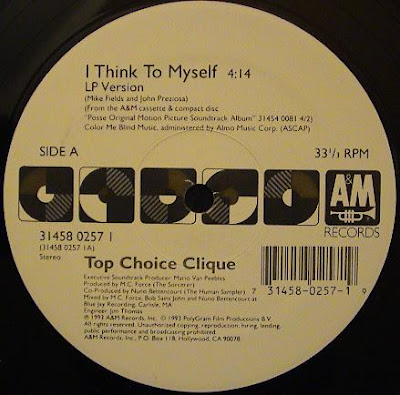 Top Choice Clique ‎– I Think To Myself (1993, VLS, 192)