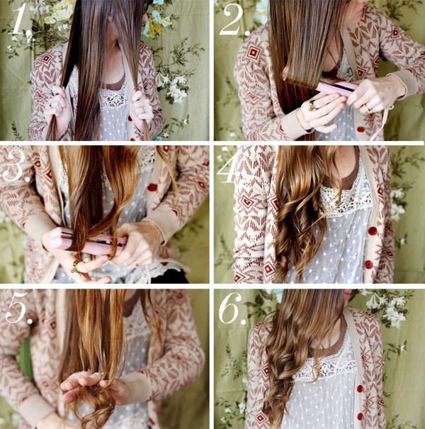 Как сделать красивые волны на волосах