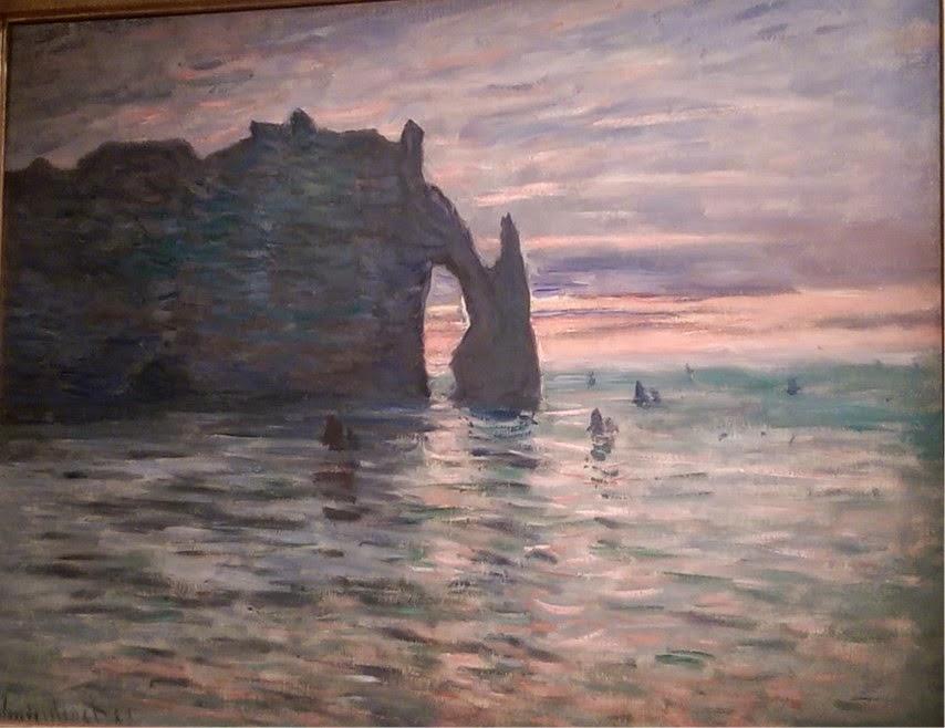 Impressionnisme Musée Marmottan Paris Claude Monet Etretat peinture