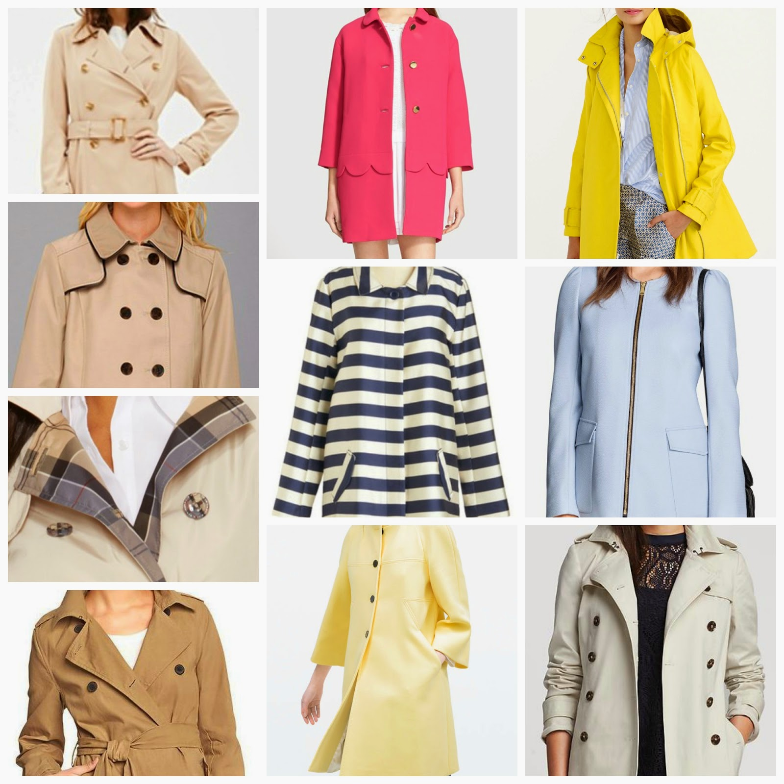 10 classic coats for spring j crew kate spade barbour