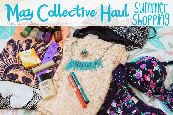 May Collective Haul - Summer edition - cosmetics, bikinis and new knits