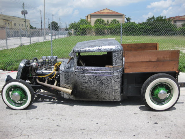 1955 Chevy Truck Rat Rod http://vonskip.blogspot.com/2011/11/truck-tuesday_08.html