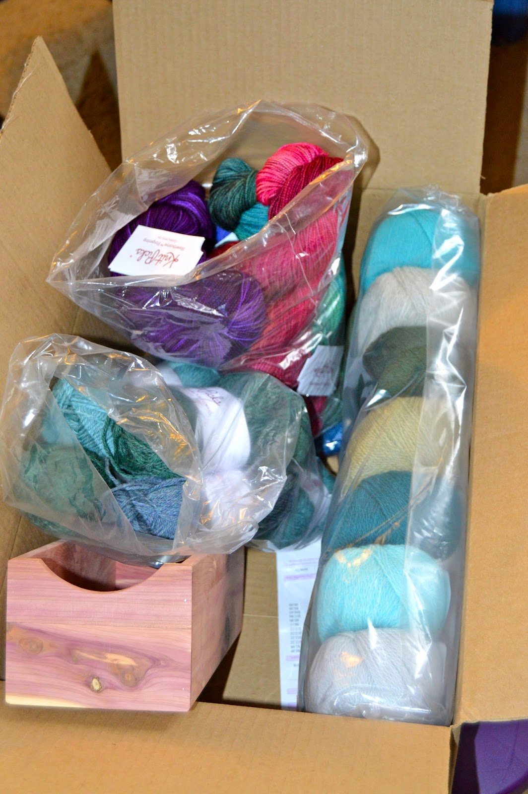 Knit Picks, yarn stash, Hawthorne, Palette, Wool of the Andes, yarn binge