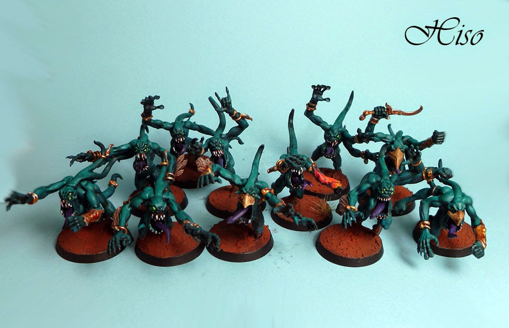 Horreurs rose - pink horrors - chaos deamons