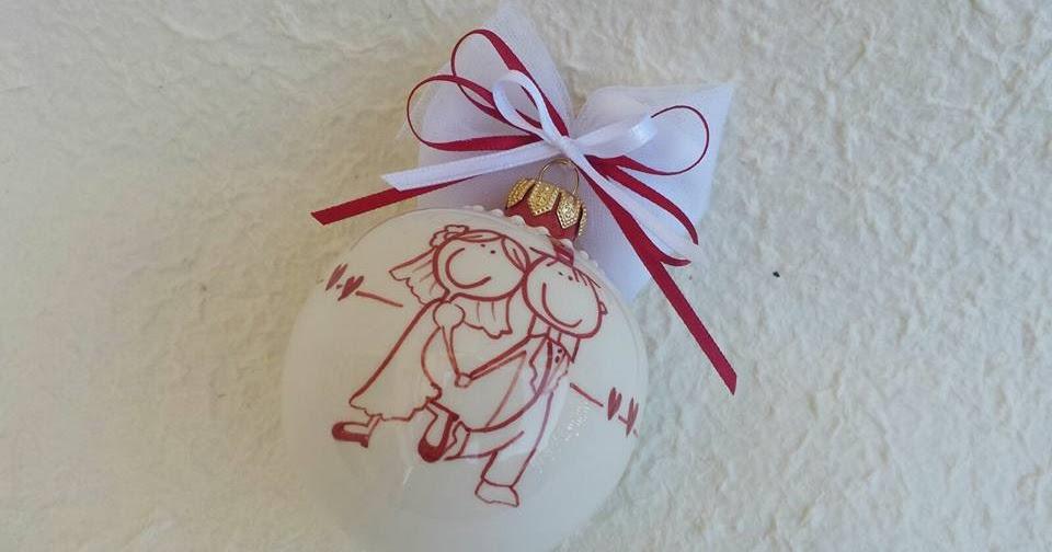 Ceramica Come Mestiere Pallina Di Natale In Ceramica Con