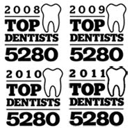 Named Top Periodontists by 5280 Magazine