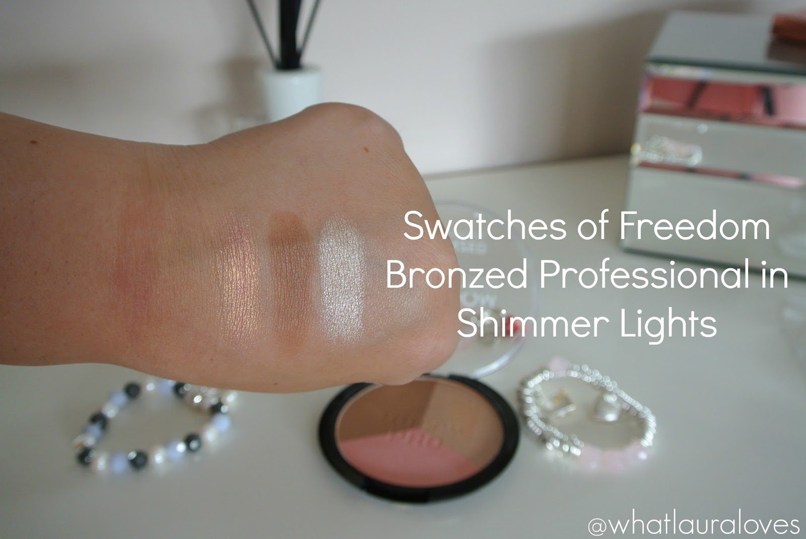 Freedom Makeup London Bronzed Professional Shimmer Lights Review