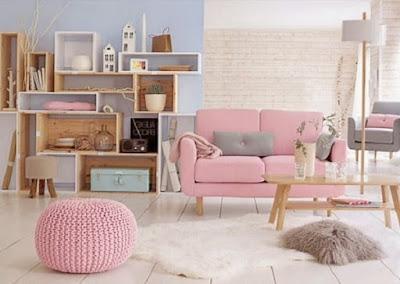 Color tendencia en decoración 2.016, Rosa Cuarzo