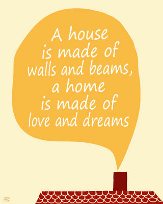 Spring Into The Dream Pinterest ContestGiveaway - Happy new home quotes