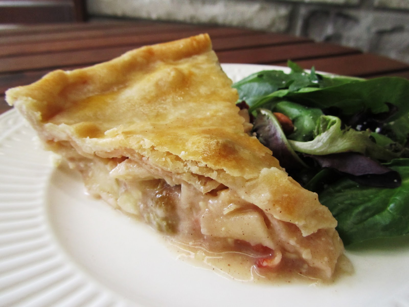 Cook's Book: Apple, Bacon, Cheddar, Maple Pie