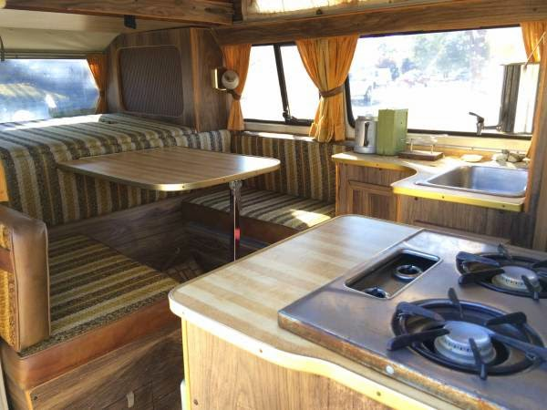 Used RVs 1976 Volkswagen T2 High Top Campervan For Sale by Owner