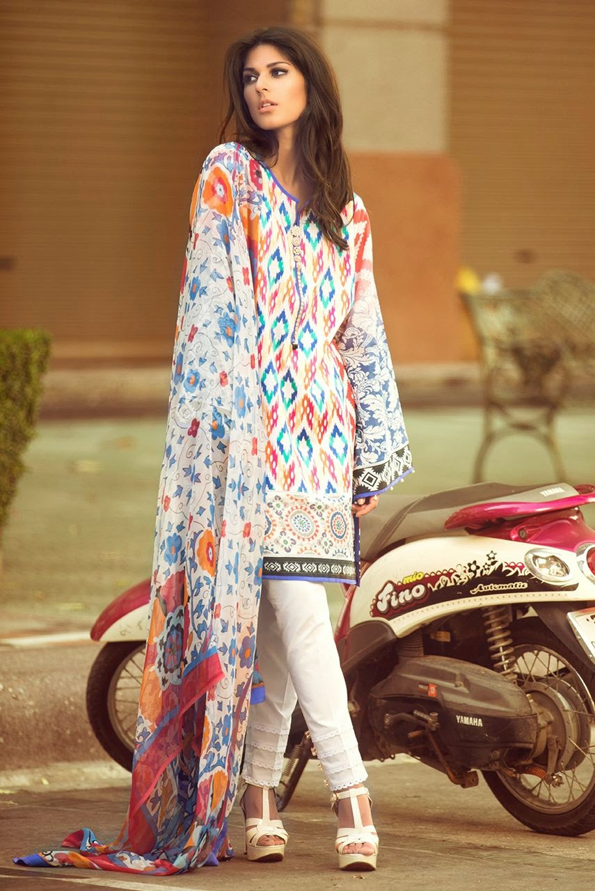 Pakistani designer summer collection 2015