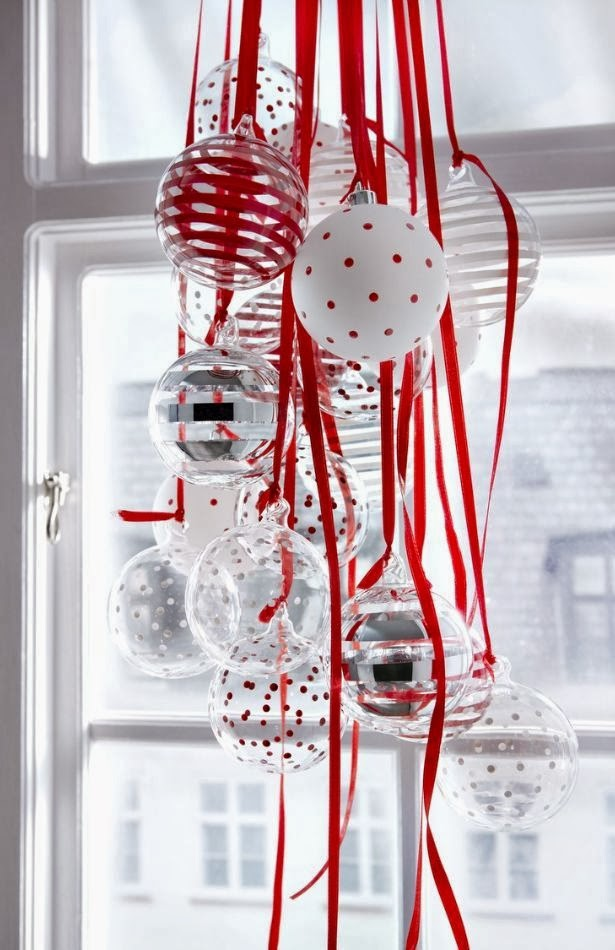 Jarrah jungle this years christmas inspiration for Red and silver christmas decorations