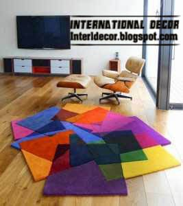 contemporary rugs, contemporary colorful rugs